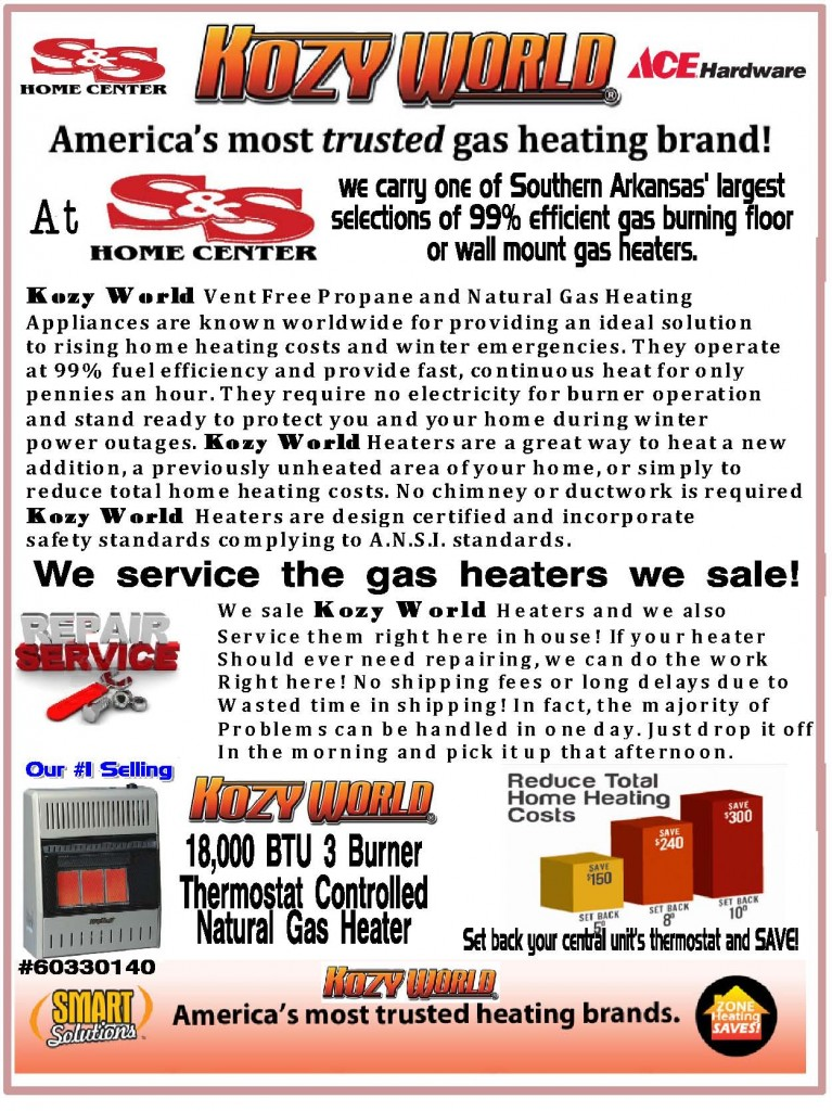 Heaters Ventless Gas S Amp S Home Center